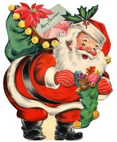 1930s Santa Claus Card